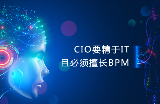 CIO要精于IT而且必须擅长BPM