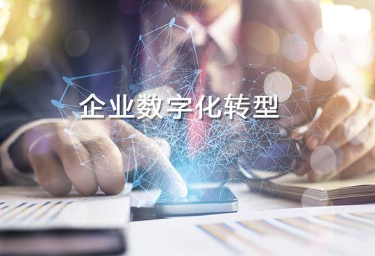 数字化是企业转型的基础设施