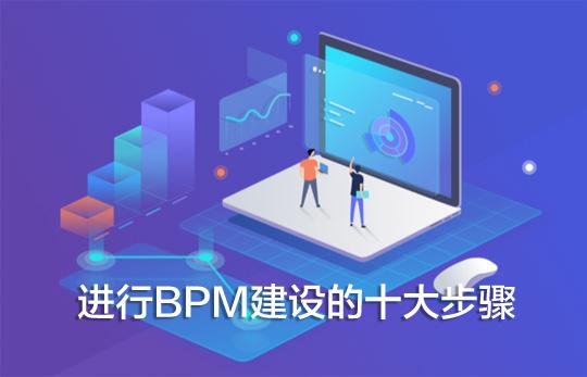 企业进行BPM建设的十大步骤