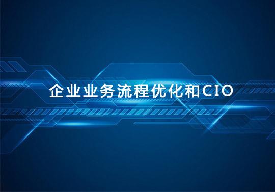 企业业务流程优化和CIO的角色融合