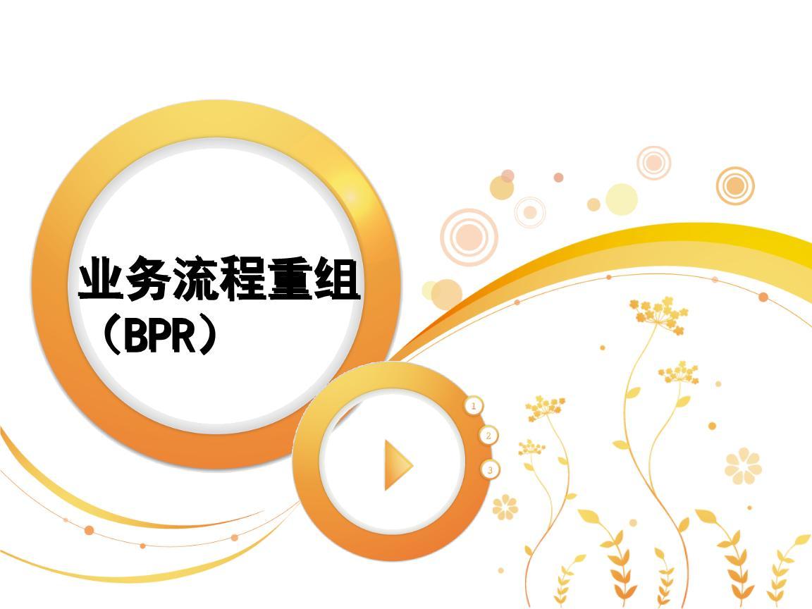 业务流程重BPR组简易指南